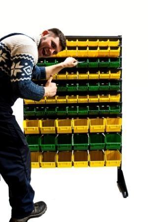 Пластиковий контейнер для зберігання дрібниць