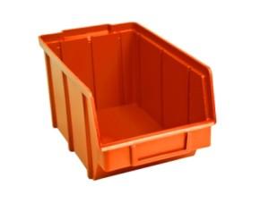 Пластиковый ящик для гвоздей 701 оранжевый 125 х 145 х 230