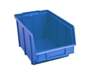 Ящики для мелочей пластиковые 701 синий 125 х 145 х 230