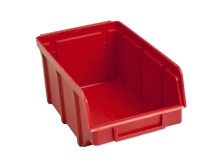 Пластиковые ящики под метизы 702 красный 75 х 100 х 155