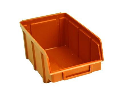 Ящики на стеллаж для склада 702 оранжевый 75 х 100 х 155