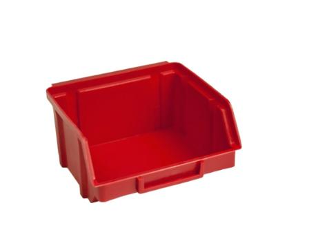 Пластиковый лоток для шурупов 703 красный 50 х 100 х 90