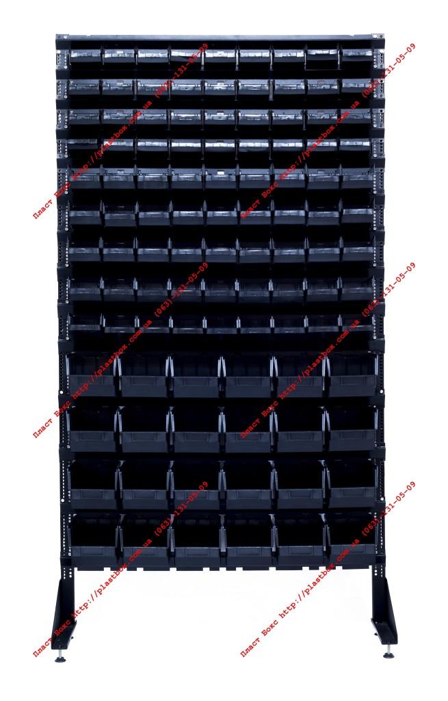 Складские кюветы (ящики) на стойке
