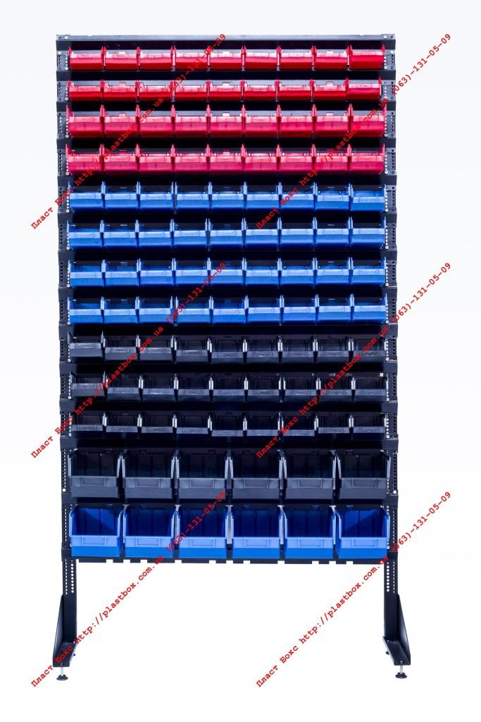 Стеллаж модульный с лотками для фланца