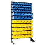 Стенд для хранения инструмента в гараже с кюветами для мелочевки 78 шт на 1,8 м