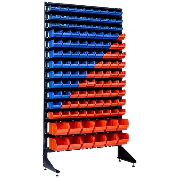 Для крепежа и метизов стойки-стеллажи 1,8 с ящиками метизными 105 шт для магазина