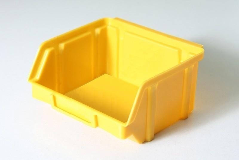 Ящик пластиковый 703 желтый