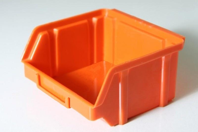 Ящик для крепежа 703 оранжевый