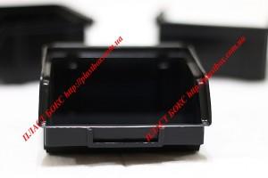 Лотки для хранения метизов крепежа и других мелких деталей 120 шт на стойке 1800 мм