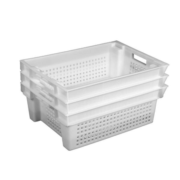 Ящик пластиковый для молочной продукции